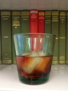 Mini-negroni in iitala glass