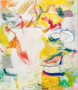 Late De Kooning painting