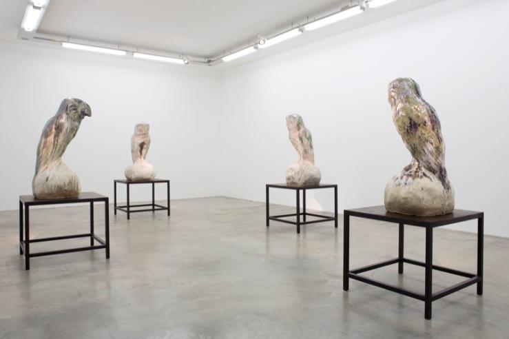 Johan Creten at Galerie Perrotin