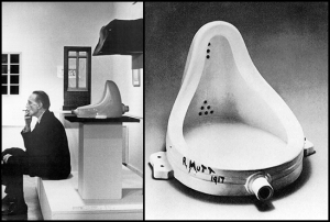 "Duchamp's urinal (signed ""R. Mutt"")"
