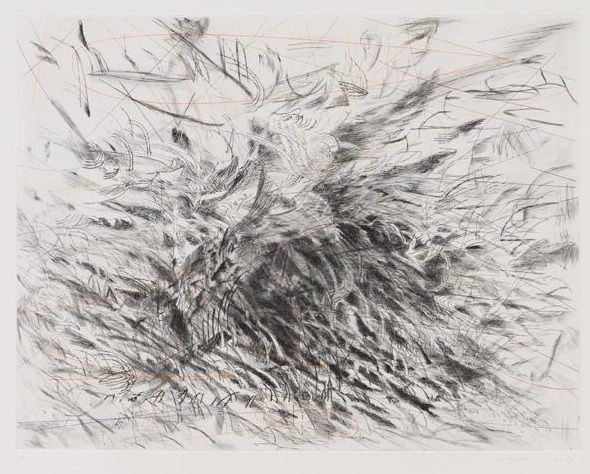 Julie Mehretu at Marian Goodman