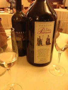 "Gravner and grappa ""Due Patriarchi"""