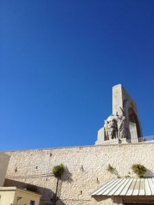 Memorial to WWI on France's eastern front, Vallons-des-Auffes