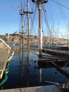 Vieux Port: fortunately NOT where we having dinner !