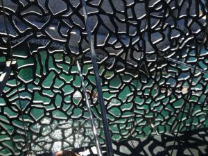 MuCEM's latticed walls