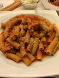 Fuel for the galleries: pasta with the intestines of a newly-weaned calf ('pajata')