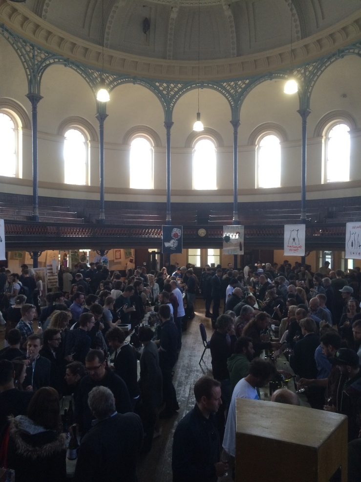 View of Tutto/Gergovie Spring Tasting 2016 in the Round Chapel, Hackney