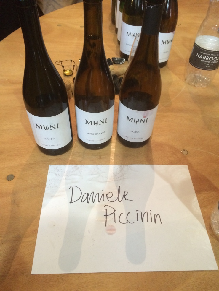 Again from Veneto, Daniele Piccinin lands are in the Alpone valley near Verona. His focus is on the local, and almost extinct, Durella grape (aka Rabbiosa - the angry i.e. acidic and hard to vinify).