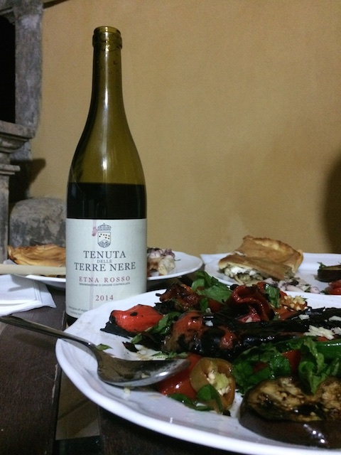 Terre Nere entry-level Etna Rosso 95% nerello mascalese, from near Randazzo
