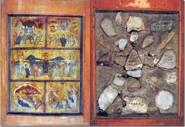 Vatican reliquary Santa Sanctorum